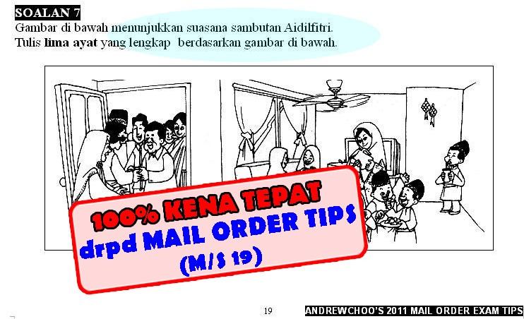 UPSR PMR SPM EXAM TIPS Andrew Choo