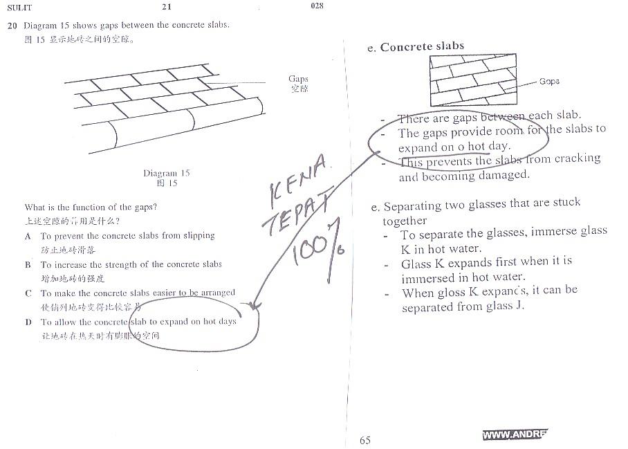 in 2013 upsr exam tips tips kena tepat no comments