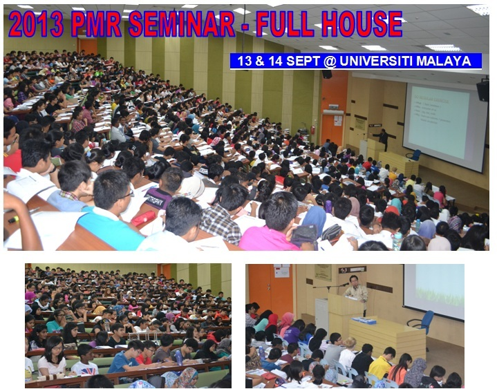 2013 SEMINAR PMR -FULL HOUSE