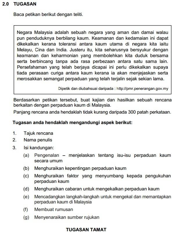 Contoh Soalan Objektif Sejarah Tingkatan 4 Bab 6 Malacca U