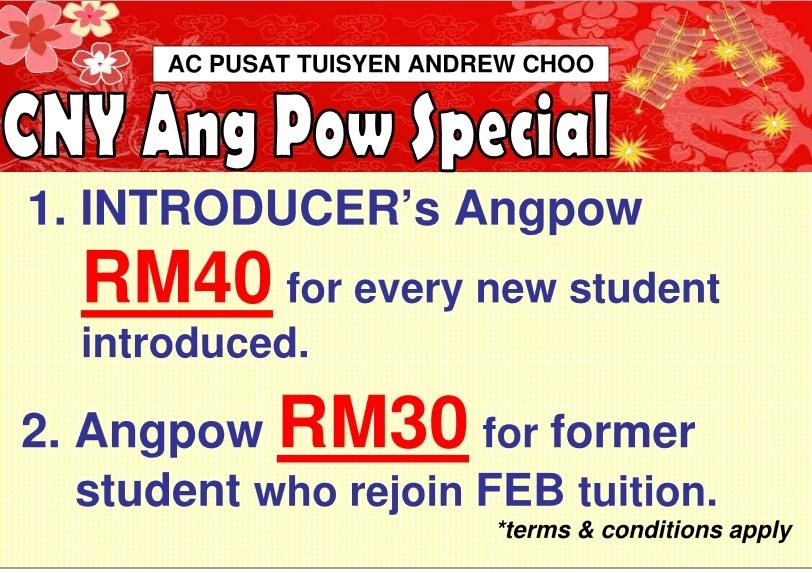 ANDREW CHOO CNY ANGPOW