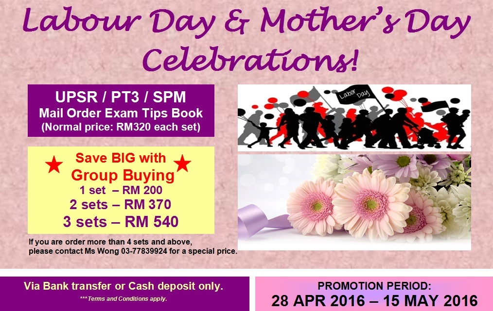 LABOUR & MOTHER'S DAY