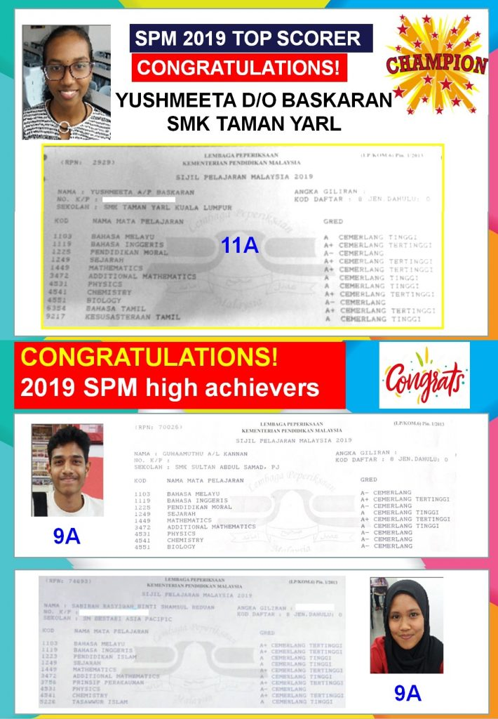 2019 Spm Results 2 By Andrew Choo